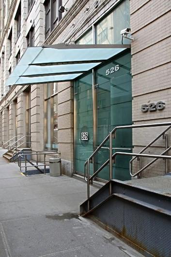 Thomas Erben Gallery - Building Entrance