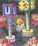 N-Platz II, 2011. Oil on canvas, 24 x 20 in.