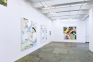 Installation view: west and north walls