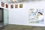 Installation view: south and west walls