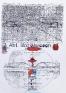 Adelhyd van Bender:  Untitled,  (1999-2014). Mixed media on photo copy, 16.5 x 12 in