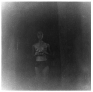 Adrian Piper Food for the Spirit #5, 1971. Silver gelatin print, 14.5 x 15 in, ed. of 3 (+1 AP).