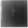 Adrian Piper Food for the Spirit #9, 1971. Silver gelatin print, 14.5 x 15 in, ed. of 3 (+1 AP).