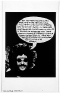Adrian Piper The Mythic Being: I / You (Her) #10, October 1974.B/W photograph with felt tip pen and