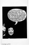Adrian Piper The Mythic Being: I / You (Her) #3, October 1974.B/W photograph with felt tip pen and c