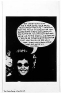 Adrian Piper The Mythic Being: I / You (Her) #8, October 1974.B/W photograph with felt tip pen and c