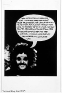 Adrian Piper The Mythic Being: I / You (Her) #9, October 1974.B/W photograph with felt tip pen and c
