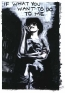 Adrian Piper It Doesn\'t Matter #2, 1975. Oil crayon drawing onphotograph, 10 x 8 in.