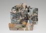 Kahlil Robert Irving, Memorial Mass (Life lottery), 2017. Glazed and unglazed porcelain and stonewar
