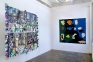 Installation view, project space: Mike Cloud, Dona Nelson.