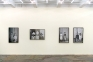 Installation view, west wall.