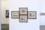Installation view towards west wall.