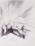 Bonnie Camplin, Animus Mundi, 2012. Ink on paper, 11.5 x 16.3 in.