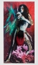 Mermaid 2009. Inkjet print on canvas with collage material,80 x 40 in.