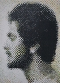 Mahbub Shah: Untitled, 2006. Acrylic on board, 48 x 36 in.