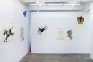 Installation view, north wall.