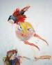 Haeri Yoo: Bugging, Talking, Teasing, 2006. Mixed media installation,10 x 44 ft. in total (detail).