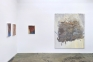Installation view: east and south wall