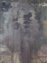 Bigger Half, Flat (General Assembly Pelt), 2012. Oil on canvas, 107 x 81 in.