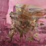Rebound, Extrovert, 2013. Oil on canvas, 79 x 79 in.