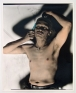 D, 2013. Hand-tinted silver gelatin print, edition of 5 (+2 AP), 38 x 29.5 in.