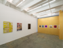 Installation view: west and north wall