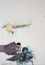 Ala Dehghan, from series: Taste of the Shadows, 2009. Mixed media onpaper, 50 x 35 cm.
