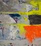 Line Street, 2007. Acrylic and acrylic mediums on canvas, 79 x 70 in.