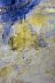 My Home III, 2000. Cheesecloth and acrylic mediumson canvas, 90 x 60 in.