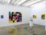 Installation view, east and south wall: Whitney Claflin, Bara, Whitney Claflin, Harriet Korman.