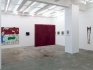 Installation view, west and south wall (from left): Rose Wylie, Barbad Golshiri, Dona Nelson, Adrian