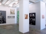 Installation view, east and north wall (from left): Fang Lijun, Oladélé Bamgboyé, Sar