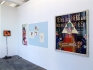 Installation view, project space (from left): Tejal Shah, Haeri Yoo, Ala Dehghan, Blalla Hallmann.