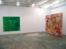 Brain Stain - installation view, west and north wall.