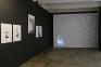 Installation view, west and north wall: Mohnsen Ahmadvand, Siamak Filizadeh, Barbad Golshiri.