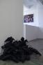 Installation view: Bita Fayyazi in foreground, Sadegh Tirafkan, FarshidMaleki, Ramin Haerizadeh.