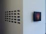 Nadia Khawaja - installation view, corner of north wall.