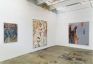 Installation view: west and south wall