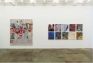 Installation view: west wall