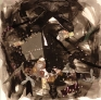 Volume 13, 2005. Mixed media and liquid glass, 24 x 24 in.