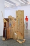 How to Proceed, 2017. Wood and mixed media. 210 x 179 x 57 cm