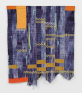 Diedrick Brackens, sleep don't come easy, 2016. Woven cotton and polyester yarn, 61 x 52 inches