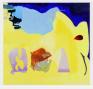 Viktorie Langer, Everyday Bread, 2019. Oil on primed linen canvas, 100 x 95 cm.