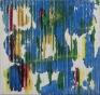 309, 2016. Acrylic and acrylic mediums on canvas, 83 x 79 in.