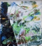 Magdelena Lane, 2016. Acrylic and acrylic mediums on canvas, 93 x 84.5 in.