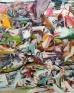 Haeri Yoo: Solid Water, 2012. Oil on canvas 90 x 72 in.