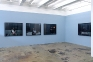 Installation view, east and south wall.