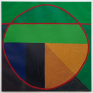Untitled, 1997. Oil on canvas, 36 x 36 inches.