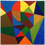 Untitled, 2001. Oil on canvas, 60 x 60 inches.