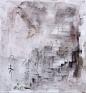 Giovanna Sarti: Untitled (Chiare Ombre - Scure Riflessioni), 2013. Varnish, ink and metal duston lin